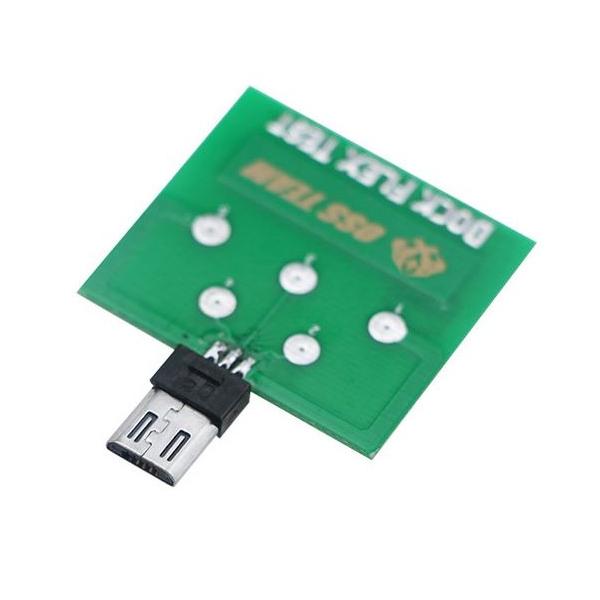 Testeur pour connecteur de charge micro USB Galaxy Note
