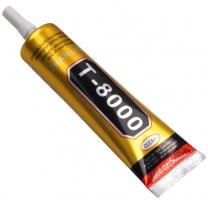 Tube de colle T-8000 : Polyvalent, transparent, prise rapide