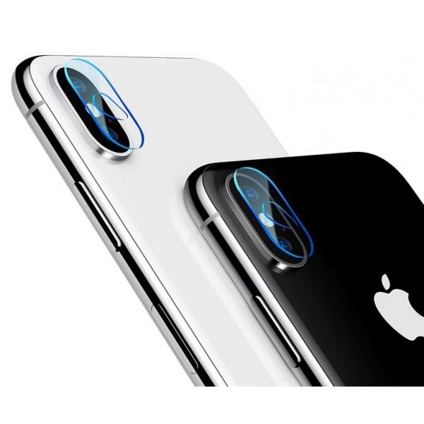 iPhone X : film trempé de protection lentille caméra arrière