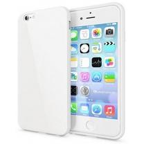 iPhone 6, 6S : Coque Souple Blanche - accessoire