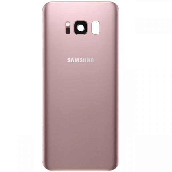 Galaxy S8 SM-G950F : Vitre arrière Rose. Officiel Samsung