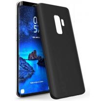 Samsung Galaxy S8 Plus SM-G955F : Coque noire souple TPU silicone