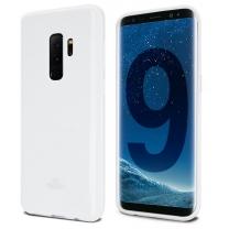 Galaxy S9 SM-G960F : Coque Blanche souple TPU silicone