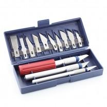 kit 3 cutters de précision + lames - outil