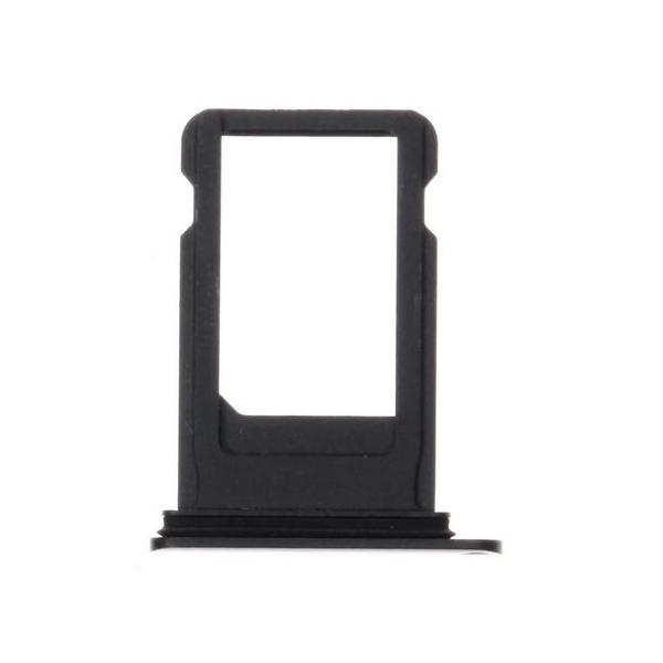 iPhone 8 plus : Tiroir sim gris noir