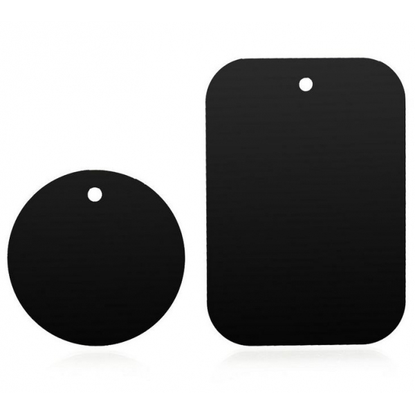 plaques m tal suppl mentaires pour support magn tique smartphone iphone. Black Bedroom Furniture Sets. Home Design Ideas