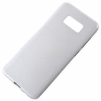 Galaxy S8 (SM-G950F) : Coque souple silicone TPU blanc