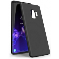 Silicon case Galaxy S9 noir en TPU
