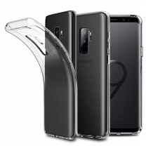 Silicon case S9+, coque transparente protection Samsung Galaxy S9 Plus