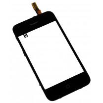 iPhone 3G : Châssis + vitre + écouteurs + home - pièce détachée