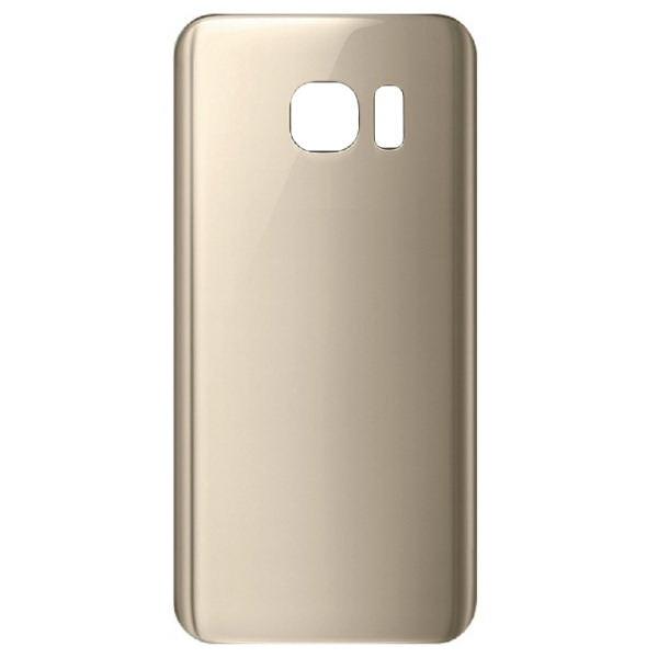 Cache batterie pour Galaxy S7 Edge Or (Gold), pièce détachée de rechange.
