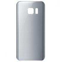 Cache batterie Galaxy S7 Edge argent, pièce détachée de rechange
