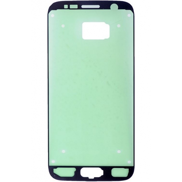 Adhesif Galaxy S7 SM-G930F, sticker collage vitre avant de rechange