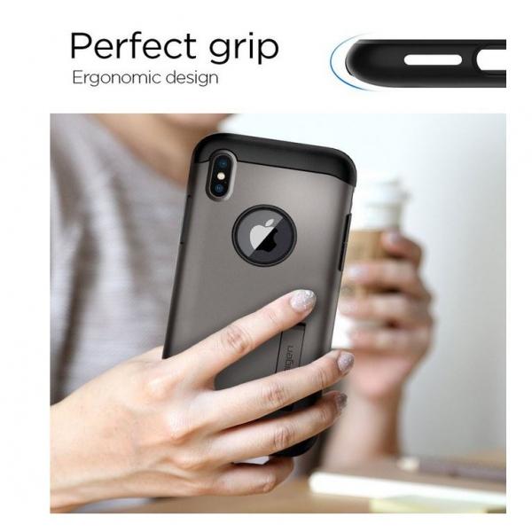 coque iphone xs transparente antichoc spigen