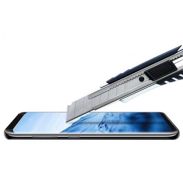 Film verre trempé Galaxy S8 SM-G950F de protection 3D Curv. Grossiste