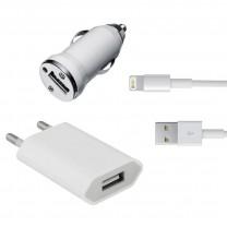 iPhone 5 à 7 Plus : kit de recharge 3 en 1. Accessoires