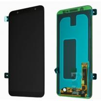 Vitre Galaxy A6+ 2018 (A605F) noir. Pièce détachée Officielle Samsung