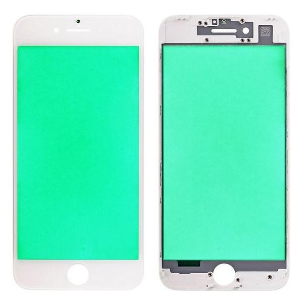 Reconditionner la vitre iPhone 7 blanc, châssis bezel déja prêt & posé