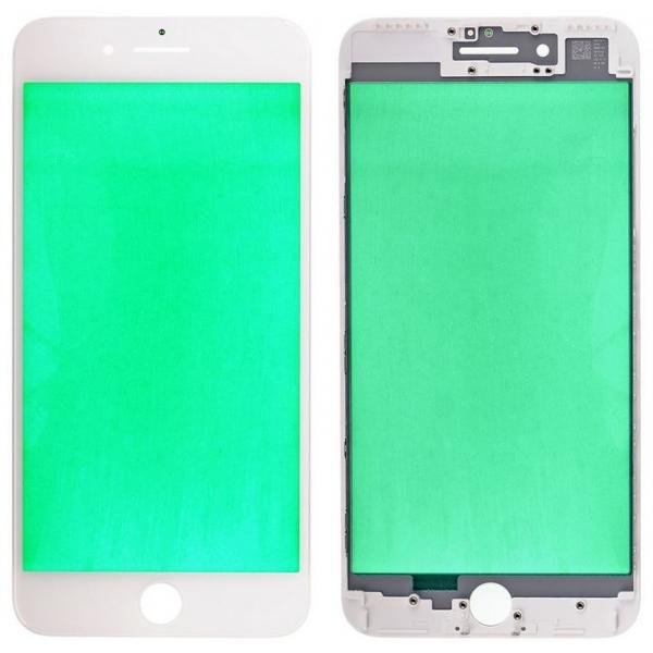 Reconditionner la vitre iPhone 7 PLUS blanc, châssis bezel déja prêt & posé