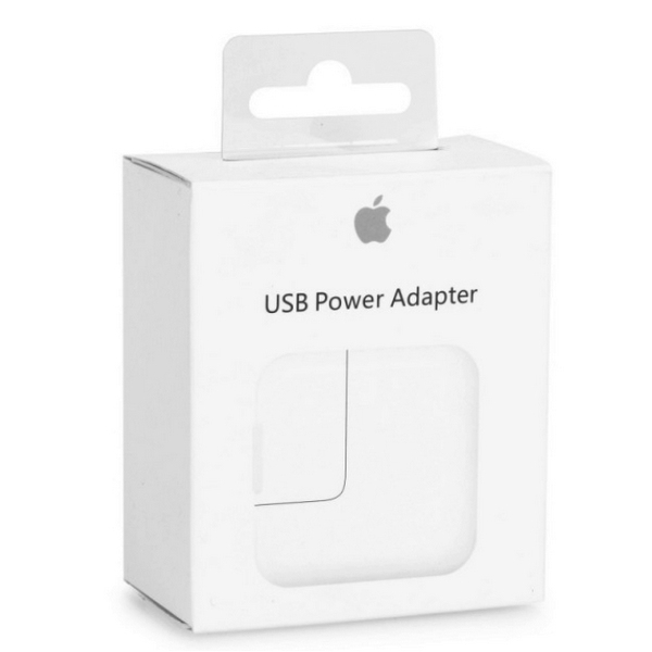 Chargeur iPad original Apple 12W. Retail avec packaging