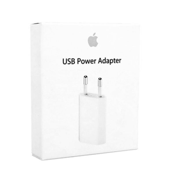 Chargeur iPhone original Apple 5W. Retail avec packaging