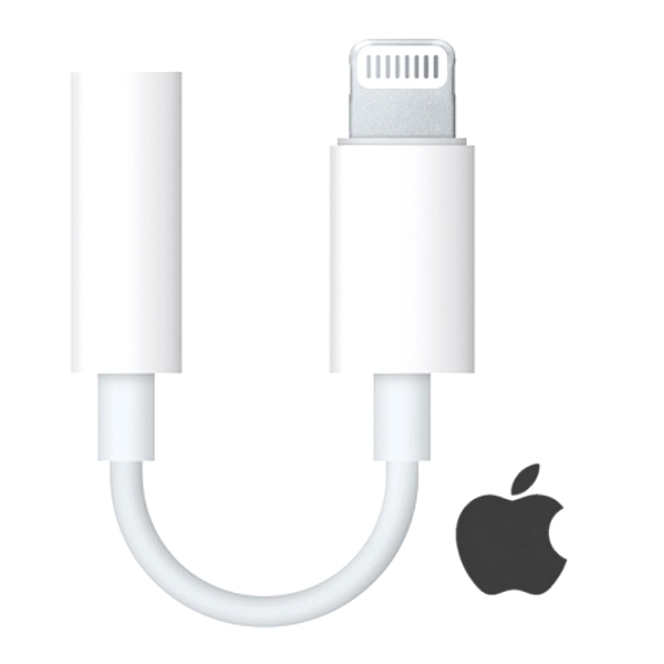Adaptateur Lightning vers jack 3,5 mm. Original Apple