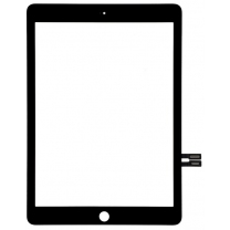 Vitre tactile noire iPad 6. Pièce détachée remplacement (A1954, A1893)