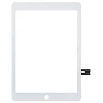 Vitre tactile blanc iPad 6. Pièce détachée remplacement (A1954, A1893)