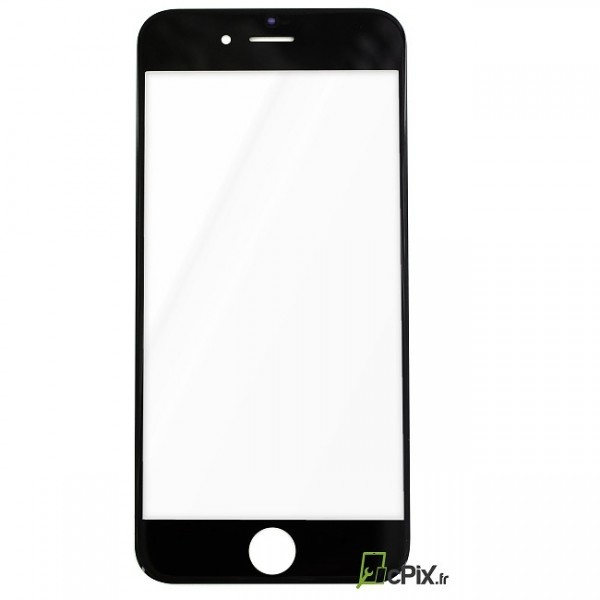 Vitre de remplacement Noire iPhone 6. Changer uniquement la vitre cassée