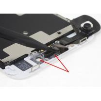 support iPhone 8, anneau caméra avant et capteur de proximité