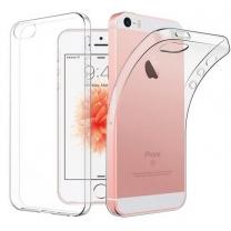 Acheter étui silicone iPhone 5 / 5S / SE gel transparent. TPU neuf
