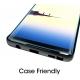 Verre trempé Galaxy Note 8 de protection 3D incurvée pas cher