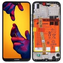 Ecran Huawei P20 Lite complet Noir. Officiel