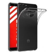 Coque silicone Huawei P Smart (FIG-LX1) transparente TPU pas cher