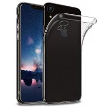 Vente coque silicone iPhone XR transparente TPU pas cher