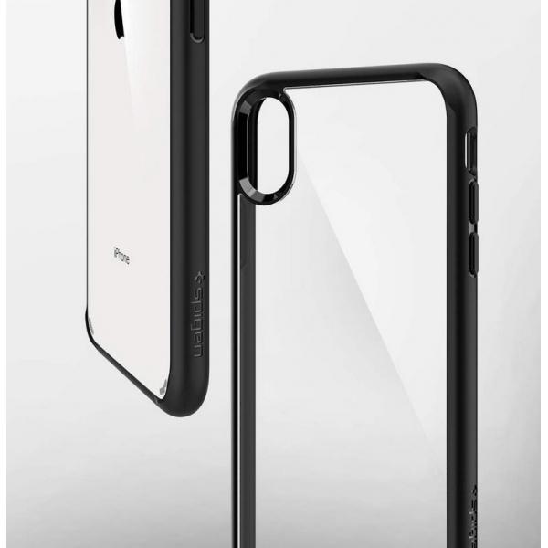 coque spigen iphone xs transparente