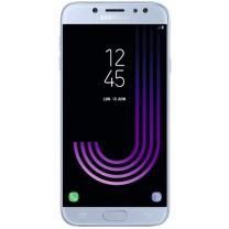 Galaxy J7 2017 (SM-J730F) : Ecran Bleu argent + vitre tactile. Officiel Samsung