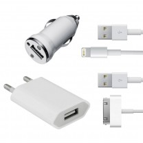 Kit recharge 4 en 1 pour iPhone, iPad