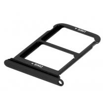 Tiroir sim Huawei P20 Pro Noir. Double support Nano sim de remplacement
