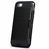 Acheter une coque anti-choc iPhone X. Protection Defender noire solide