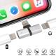 Adaptateur iPhone Lightning : recharger et écouter musique même temps