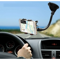 SUPPORT VOITURE DOUBLE PINCES pour Smartphone - angle paysage