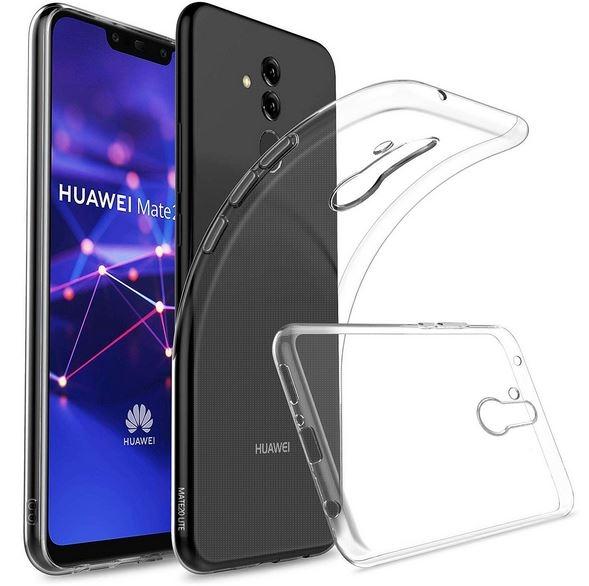 Coque silicone Huawei Mate 20 Lite transparente. Protection pas chère