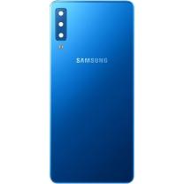 Vitre arrière Galaxy A7 2018 A750F bleu. Officiel Samsung GH82-17833D