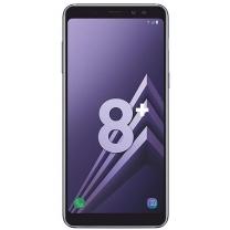 Vitre écran Galaxy A8+ 2018 SM-A730F noir. Pièce Samsung GH97-21534A