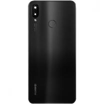 Capot arrière Huawei P Smart+ noir, acheter pièce de rechange 02352CAH