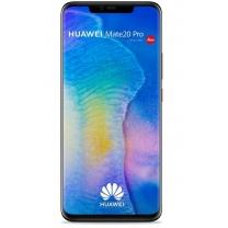 Vitre Mate 20 Pro Noir d'origine Huawei, pièce de rechange 02352FRL