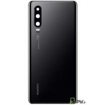 Vitre arrière P30 Noir de rechange d'origine Huawei 02352NMM