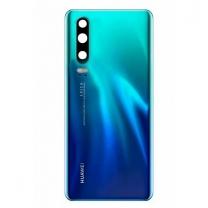 Capot vitre arrière P30 bleu de rechange d'origine Huawei 02352NMN