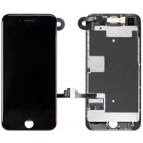 Vitre écran complet iPhone 8 noir, vente pièce détachée de rechange